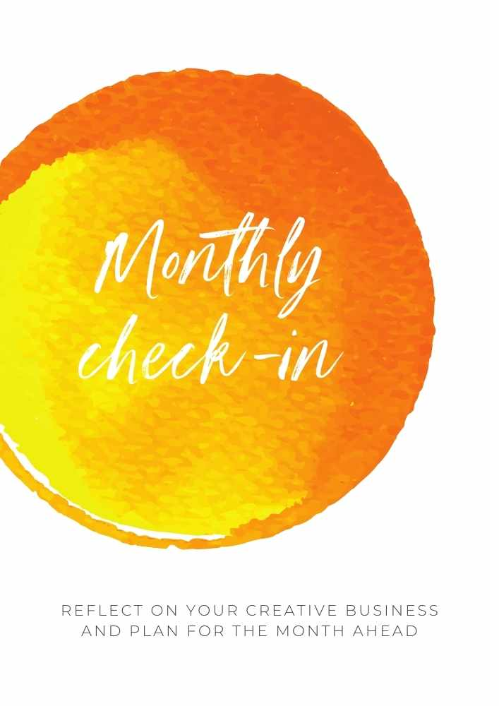 Monthly check-in PDF